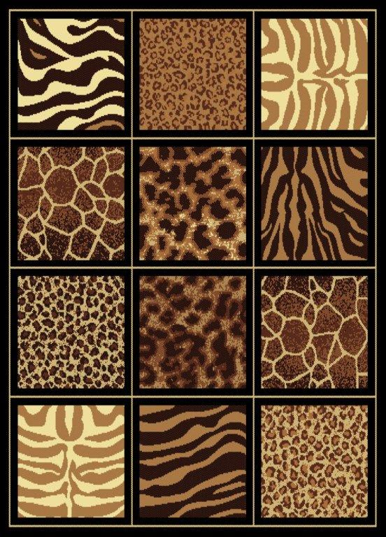 ... Safari Square Rug ...