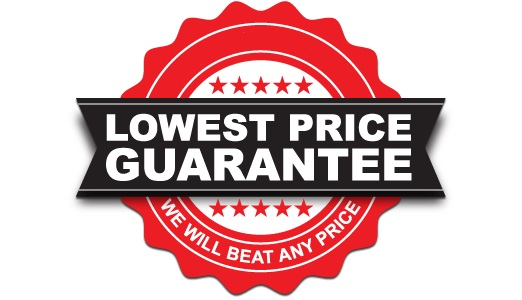 We'll Beat any Price! Guaranteed!