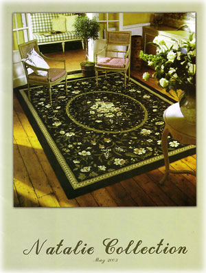 Botanical rugs, Aubusson rugs, French rugs !